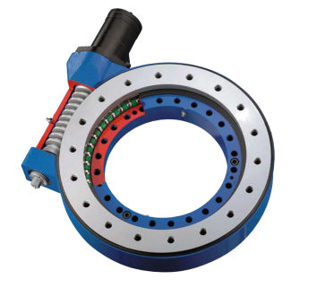 Slew Drive Bearing Cut-Away